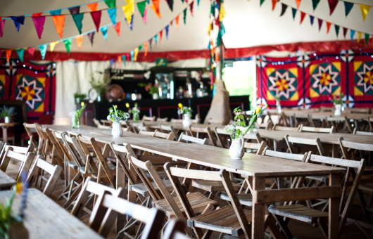 tables-and-bunting